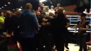 Boxing At Tower Ballroom Birmingham - Crowd Trouble And It All Kicks Off!!!