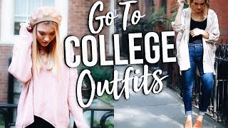 Everyday COLLEGE Outfits Of The Week! What I Wear To College!