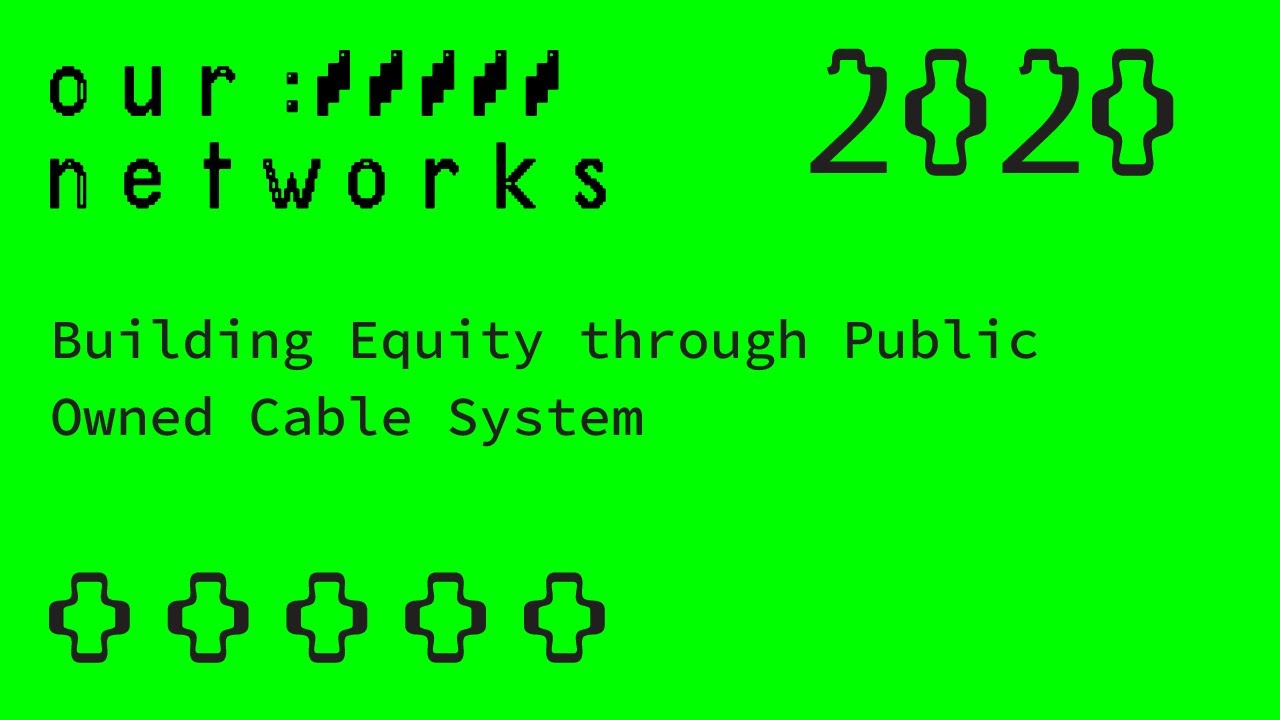 Video thumbnail for Building Equity through Public Owned Cable System