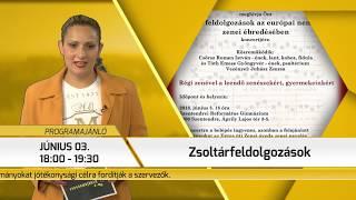 Programajánló / TV Szentendre / 2018.05.24.