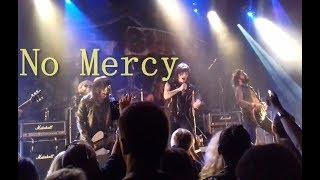 L.A. GUNS - No Mercy ( Paris 2018 )