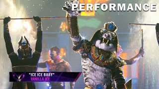 """White Tiger sings """"Ice Ice Baby"""" by Vanilla Ice 