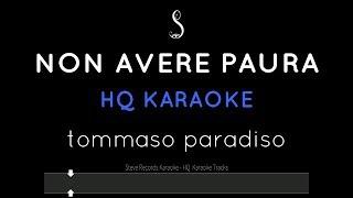 Non Avere Paura Karaoke   Tommaso Paradiso HQ