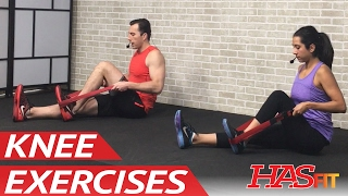 30 Min Knee Exercises for Knee Pain Relief - Knee Strengthening & Knee Stretches Knee Rehab Stretch by HASfit