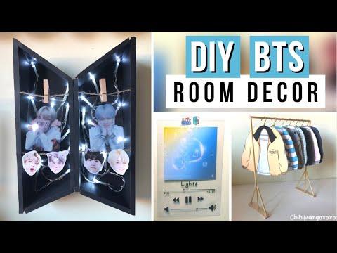 DIY BTS Room Decor Ideas!