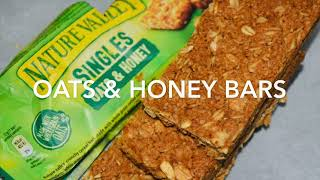 How To Make Healthy Nature Valley Oats & Honey Bars