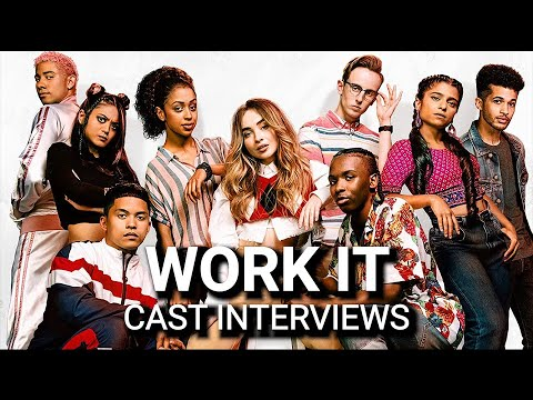 Netflix's WORK IT with Sabrina Carpenter, Jordan Fisher, Liza Koshy & Keiynan Lonsdale