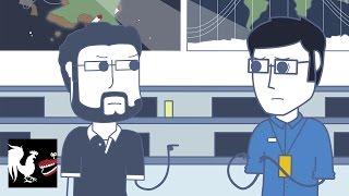 Burnie Hates NASA - Rooster Teeth Animated Adventures