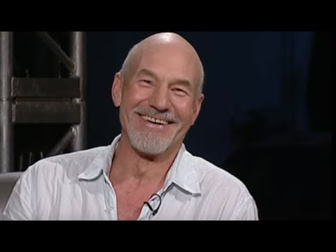 Patrick Stewart interview and lap - Top Gear