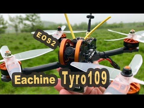 Eachine Tyro109 Bausatz mit EOS2 Kamera - Flugtest DE