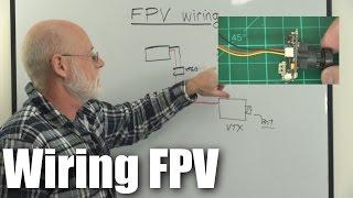 Ultra-basics: Wiring a basic FPV system