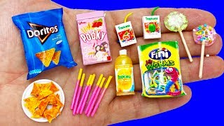 11 DIY MINIATURE FOOD AND DRINKS HACKS AND CRAFTS !!!!