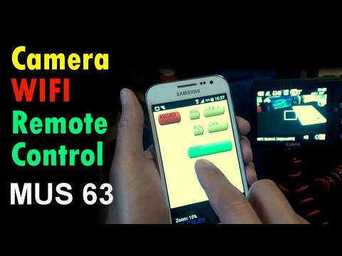 Using FlashAir Wifi to remote control my Canon S100 camera