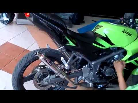 Kawasaki Ninja RR 150 With NEW R9 Monza