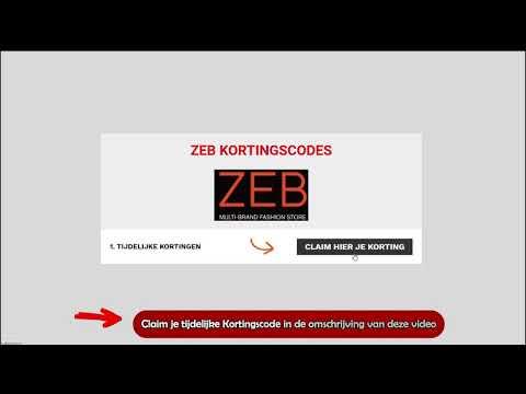 Kortingscode Zeb