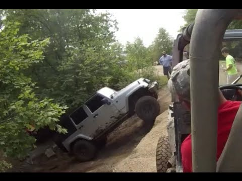 Jeep Wrangler Fun at Southington Off Road Park