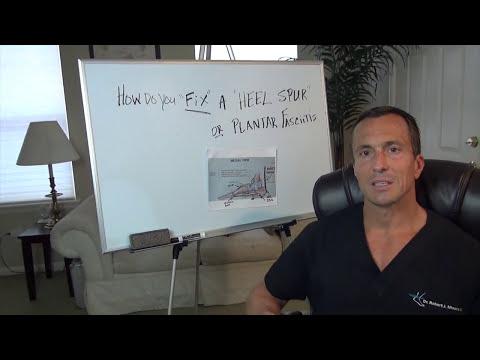 How do you fix plantar fasciitis - Heel Spur?