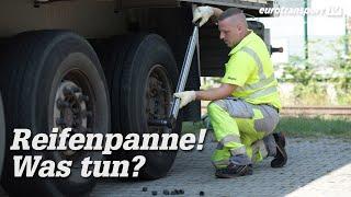 Reifenpanne am Lkw: Das unterschätzte Risko