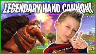 1 MILLION SPECIAL - I Got Legendary HAND CANON in Fortnite Battle Royale!