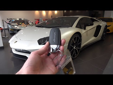 2017 Lamborghini Aventador S: In-Depth Exterior and Interior Tour.