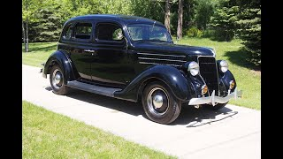 1936 Ford V8 Sunday Drive