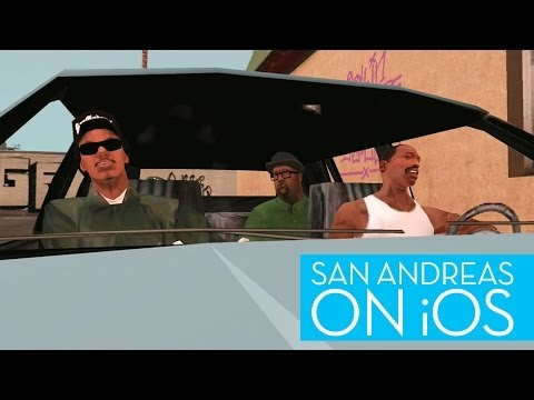 Here's What GTA: San Andreas Looks Like On The iPad
