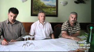 Novinarska konferenca ob krajevnem prazniku KS Železne Dveri