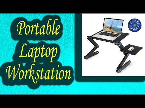 , title : 'Portable Laptop Workstation Notebook Stand Reading Holder 2020'