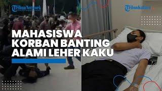 Buntut Kasus Mahasiswa Korban Banting ala 'Smackdown' oleh Polisi, Kini Dilarikan ke Rumah Sakit