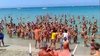 preview picture of video 'Lido Miramare ( Isola Delle Femmine , Palermo )  - Pulcino Pio'