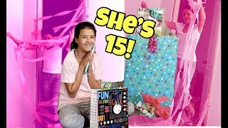 Klai's BIRTHDAY present Treasure HUNt! What Klai got for her 15th BIRTHDAY!