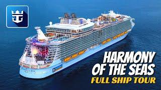 Royal Caribbean Harmony of the Seas | Full Ship Walkthrough Tour & Review | 4K | All Public Spaces