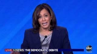 Dem Debate: Sen. Kamala Harris has a message for President Trump