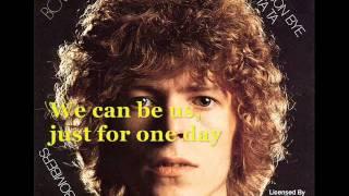 "DAVID BOWIE ""HEROES"" + Lyrics - Integral Version"
