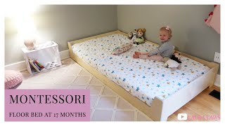 Unboxing, Assembly & 1st Nap In The Sprout Floor Bed | Montessori At Home