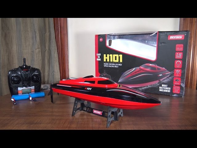 Skytech - H101 Speed Boat - Review and Run