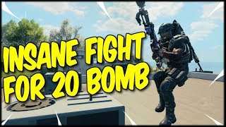 20 BOMBING AGAIN, WITH AN INSANELY LONG GUN FIGHT WITH A TOP PLAYER! COD BLACKOUT SOLO WIN