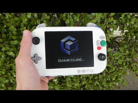 This portable gamecube looks a bit like a wii u kotaku for Wii u portable mod