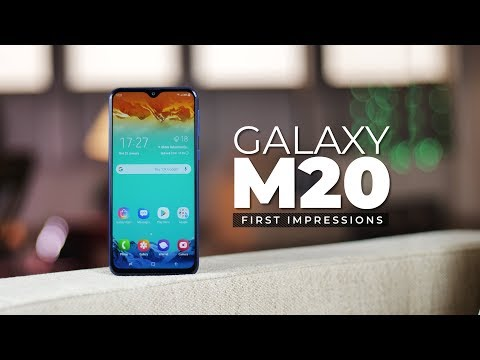Samsung Galaxy M20 First Impressions!