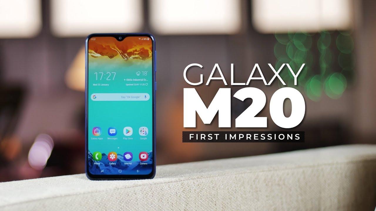 Samsung Galaxy M20 First Impressions! Screenshot Download