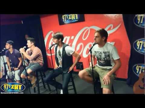 Big Time Rush - Coca Cola Lounge - 97.1 ZHT