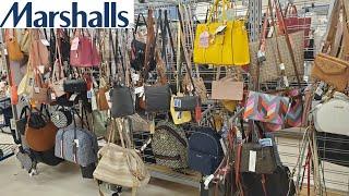 MARSHALLS HANDBAGS NAME BRAND DESIGNER PURSE SHOPPING  WALKTHROUGH 2020