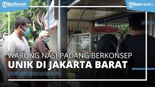 Warung Nasi Padang Berkonsep Unik, Jualan Pakai Mobil di Jakarta Barat, Pembeli Bisa Drive Thru
