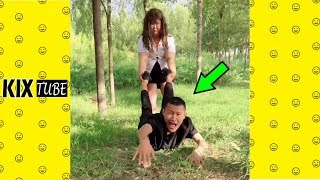 Watch keep laugh EP374 ● The funny moments 2018