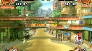 Naruto Shippūden: Ultimate Ninja 4 (PS2 Gameplay)