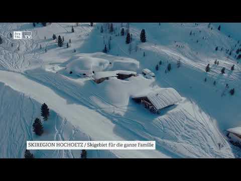 Skiregion Hochoetz Luftaufnahmen Winter 2020