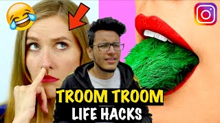 Troom Troom Life Hacks are Worse Than 5-Minute Crafts