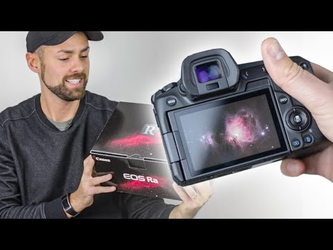 External Review Video CiYBI8jstm0 for Canon EOS Ra Full-Frame High-Sensitivity Mirrorless Camera for Astrophotography