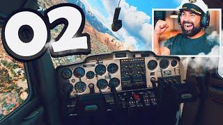 Microsoft Flight Simulator - Part 2 - MY FIRST SOLO FLIGHT (INCREDIBLE)