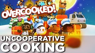 Cooking with FIRE - OVERCOOKED Festive Seasoning DLC Gameplay